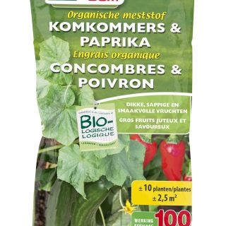 Bemesting voor Komkommer en Paprika (200 gram)