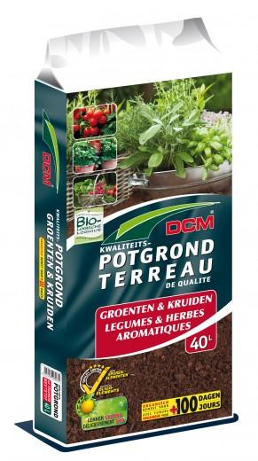 Potgrond voor Groenten en Kruiden (40 liter)