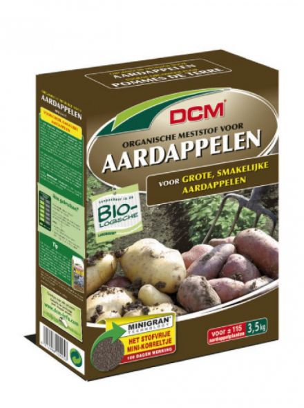 DCM Meststof Aardappelen 3,5 kilogram (Bemesting moestuin)