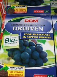 DCM Meststof Druiven 1500 gram (Bemesting voor druiven, Druivelaar)