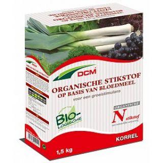 DCM Organische stikstof op basis van bloedmeel (Bloedmeel 1,5 kilogram)