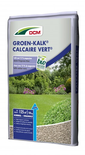 DCM Groen-Kalk® - Kalkbemesting - 10 kilogram (Gazonkalk 100 m2)