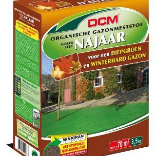 DCM Organische Gazonmeststof voor het Najaar - 3,5 kilogram (Gazonbemesting 70 m2)