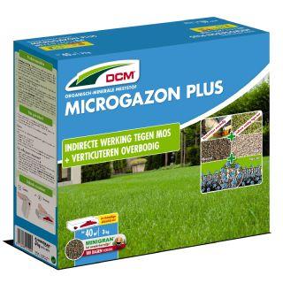DCM Meststof Microgazon Plus 3 kg (Mosbestrijding 40 m2)