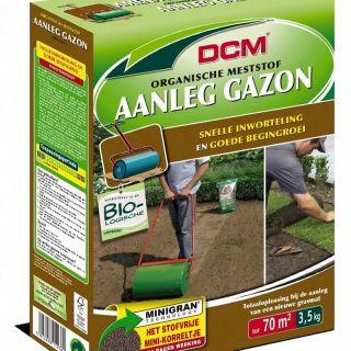 DCM Meststof Aanleg Gazon 3,5 kg (Gazonbemesting voor 35 / 70 m2)