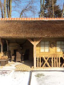 Tuinhuis met veranda Linge 07 (afmeting 6 x 4 meter)