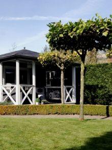 Tuinhuis met veranda Mississippi 05 (afmeting 7,5 x 4 meter)