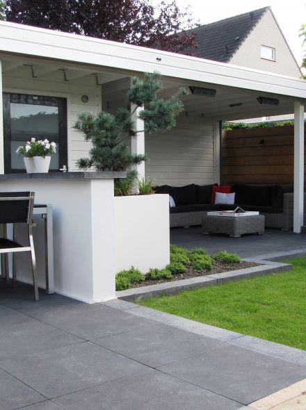 Tuinhuis met veranda IJssel 15 (afmeting 6,5 x 3 meter)
