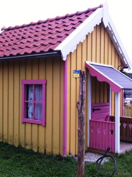 Speelhuis Villa Kakelbont (kinderspeelhuis van hout)