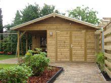 Houten garage Dordonge (5 x 7 meter)