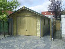 Houten garage Moezel (3,5 x 6 meter)