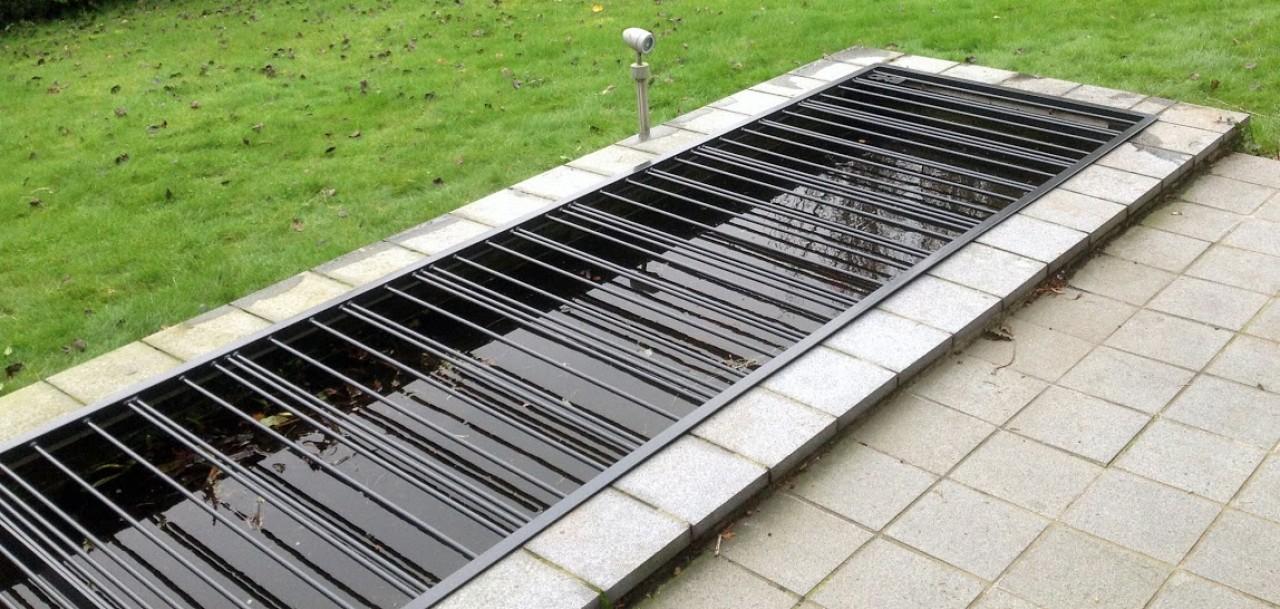 Vijverrooster chelsea per m2 vijver veilig maken for Vierkante vijver maken