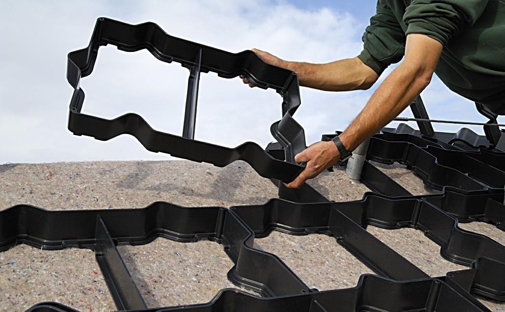 Anti Afschuif element (60 x 40 cm) Techno Groendak Systeem