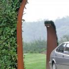 Buitenlamp Salute® XL, in Cor-Ten staal (Vrijedoorloop 245 cm)