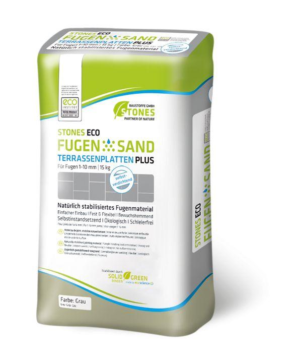 FugenSand Terrastegel Plus Beige (Voegzand voor tegels, zandkleur, 15 kg)