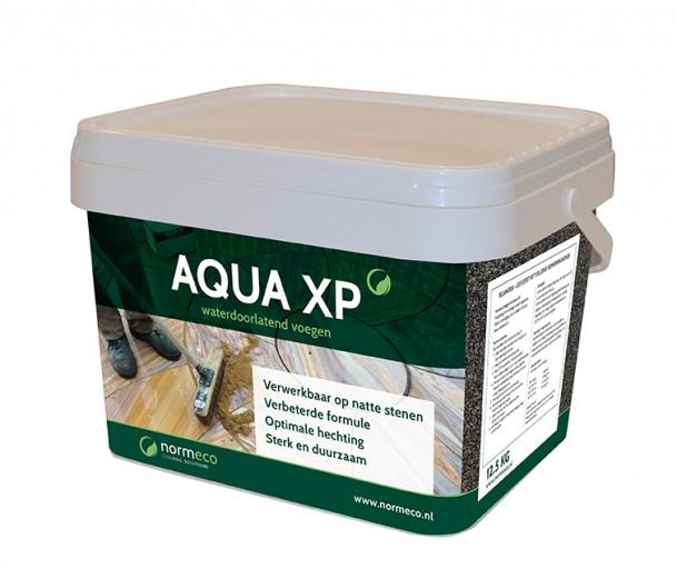 Aqua XP Basalt (waterdoorlatende voegen, 12,5 kg, basaltkleurig voegzand)