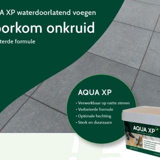 Aqua XP Goudgeel (waterdoorlatende voegen, 12,5 kg, voegzand)