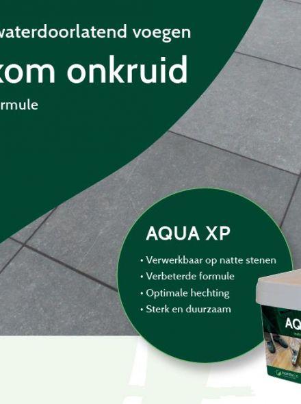 Aqua XP Naturel (waterdoorlatende voegen, 12,5 kg, zandkleurig voegzand)