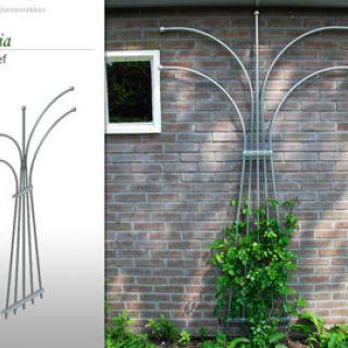 Metalen klimplantenrek Madelief (Vlakke vorm)