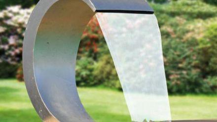 Watervallen voor vijver en zwembad (roestvrijstalen - RVS designwatervallen)