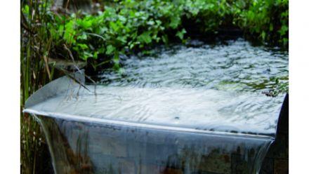 RVS Beeklopen- en watervalelementen