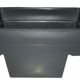 Quadra C1, inhoud 520 liter 78x118x70cm (Voorgevormde vijvers Quadra PE, Ubbink Garden)