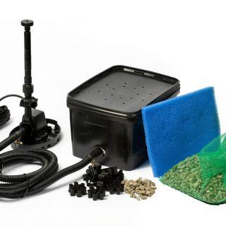 BioPure onderwaterfilter 2000 Basic set incl. vijverpomp (Ubbink Garden vijverpomp, art. 1355014)