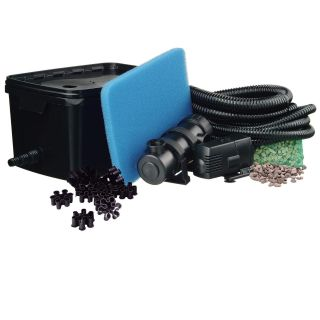 FiltraPure oeverfilter Plus set 2000 incl. Xtra 600 vijverpomp en UVC 5W (Ubbink Garden vijverfilter systeem, art.1355966)