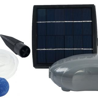 Air Solar 100 Outdoor beluchtingspomp (Beluchting voor de vijver, Ubbink Garden art. 1351374)