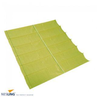 Harmonica schaduwdoek breed 2 meter lang 5 meter Lime Groen (Nesling)