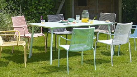 Tuinmeubelen collectie Valerie (in heerlijke pastelkleuren - MAX & LUUK outdoor furniture)