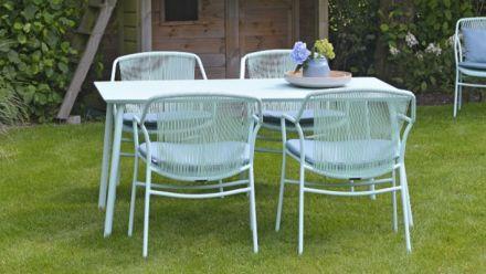 Tuinmeubelen collectie George (aluminium tuintafels George - MAX & LUUK outdoor furniture)