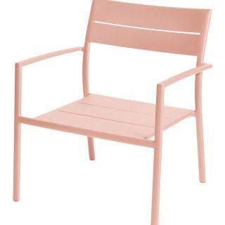 Grace stapelbare lage fauteuil (Kleur Apricot)