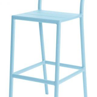 Grace barstoel (Kleur Ice Blue)