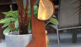 Expositie: Kunstwerken van cortenstaal en glas!