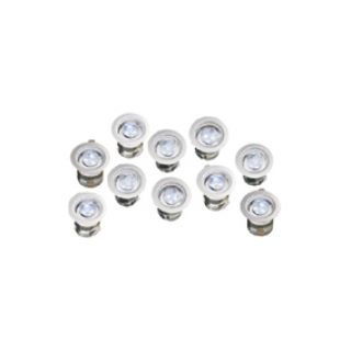 SPOTS RVS / Deck - Lights   (R3LED10-01, grondspotjes)