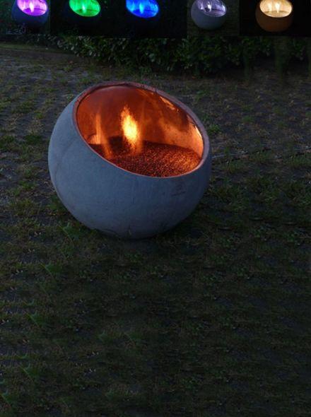 Verlichtingsset Bol Water alle kleuren (Waterornament)