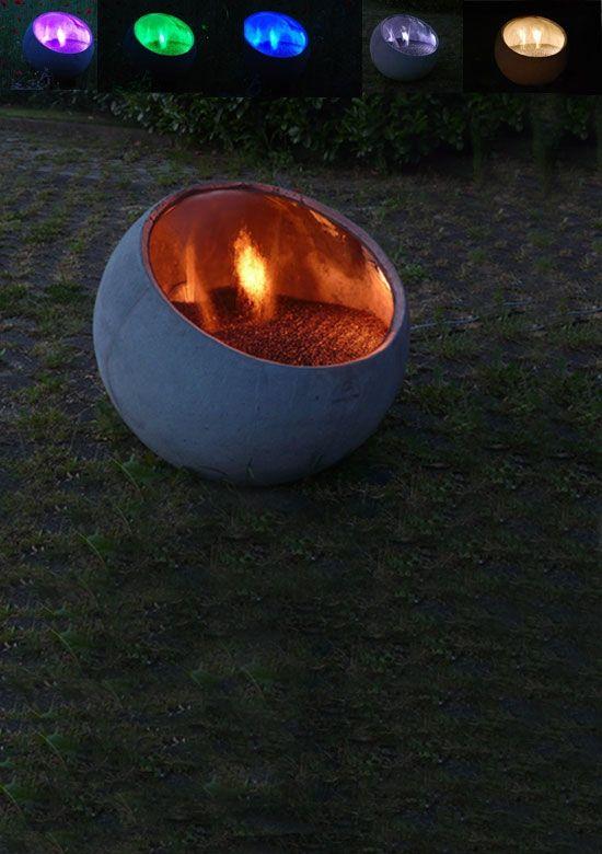 Verlichtingsset Bol Water alle kleuren (Waterornament) | De Tuinen ...