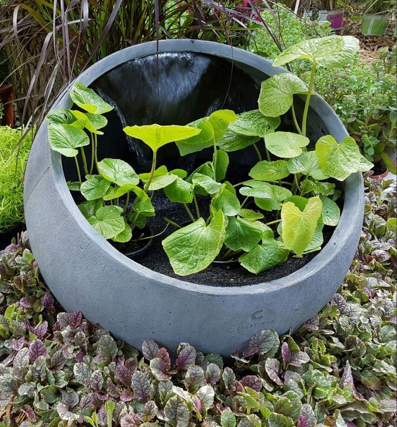 Bol Aarde (Waterornament voor in de tuin en op het terras)