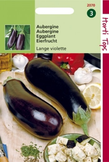 Aubergine Lange Violette (zaad Solanum melongena)