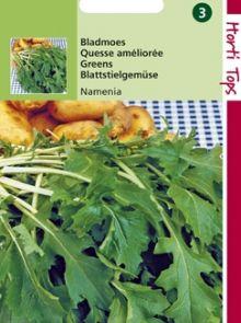 Bladmoes Namenia (zaad raapstelen, Brassica campestris)
