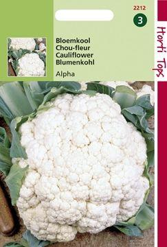 Bloemkool Alpha (zaad Brassica oleracea)