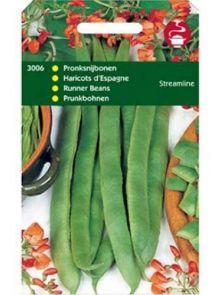 Pronkboon Streamline roodbladig (zaad snijbonen 100 gram)