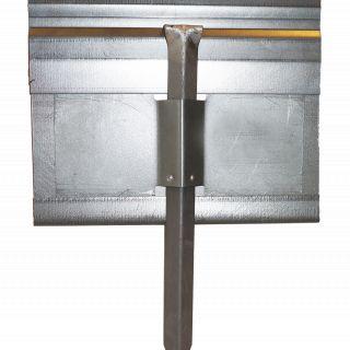 StaalLight 160V Kantopsluitingssysteem (4 Pakketten – totaal 80 lengtemeter metalen kantopsluiting)