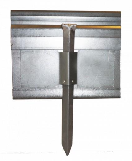 StaalLight 160V Kantopsluitingssysteem (6 Pakketten – totaal 120 lengtemeter metalen kantopsluiting)