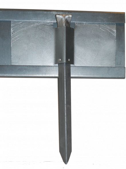 StaalLight 110V Kantopsluitingssysteem (5 Pakketten – totaal 100 lengtemeter metalen kantopsluiting)