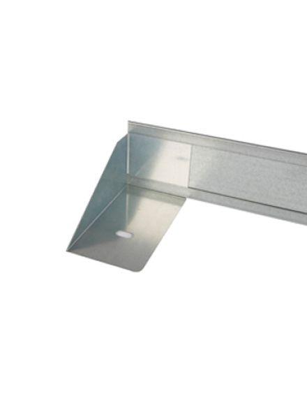 StaalLight 110VH metalen Kantopsluitingssysteem (2 Pakketten – totaal 40 lengtemeter, 11 cm hoog)