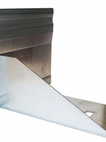 StaalLight 160VH metalen Kantopsluitingssysteem (3 Pakketten – totaal 60 lengtemeter, 16 cm hoog)