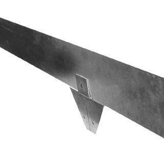 Staal 150/4VS metalen Kantopsluitingssysteem (2 Pakketten totaal 20 lengtemeter en 21 Funderingsschoenen Standaard)