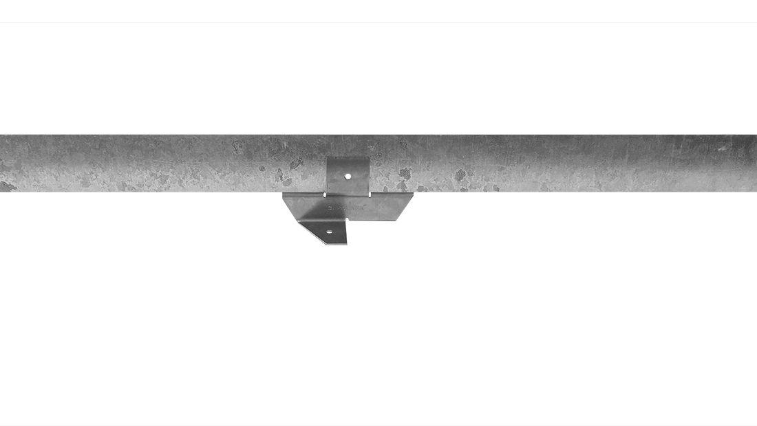 Staal 150/4VD metalen Kantopsluitingssysteem (2 Pakketten totaal 20 lengtemeter en 21 Funderingsschoenen Daktuin)